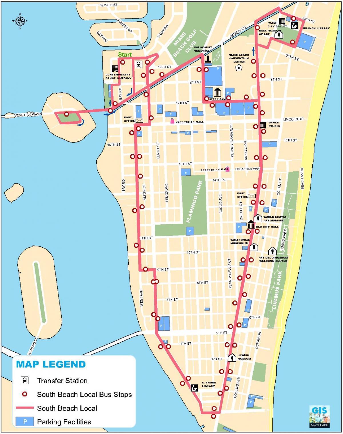 Miami Karta Karta
