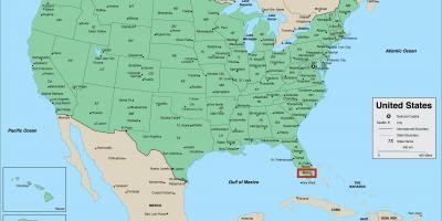 Miami Map Kartor Miami Florida Usa